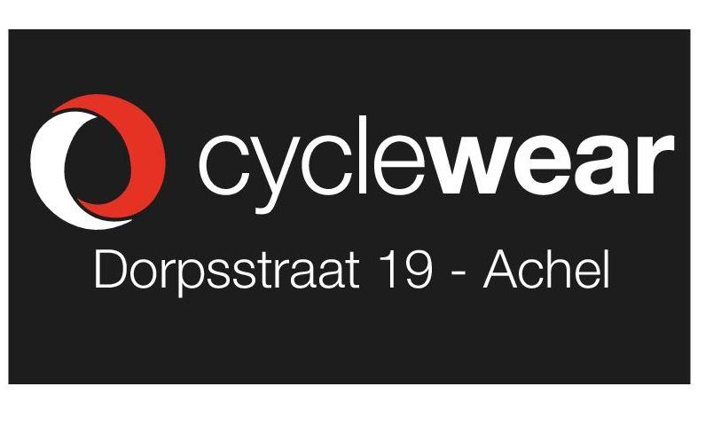 cyclewear bijgesneden logo zwart