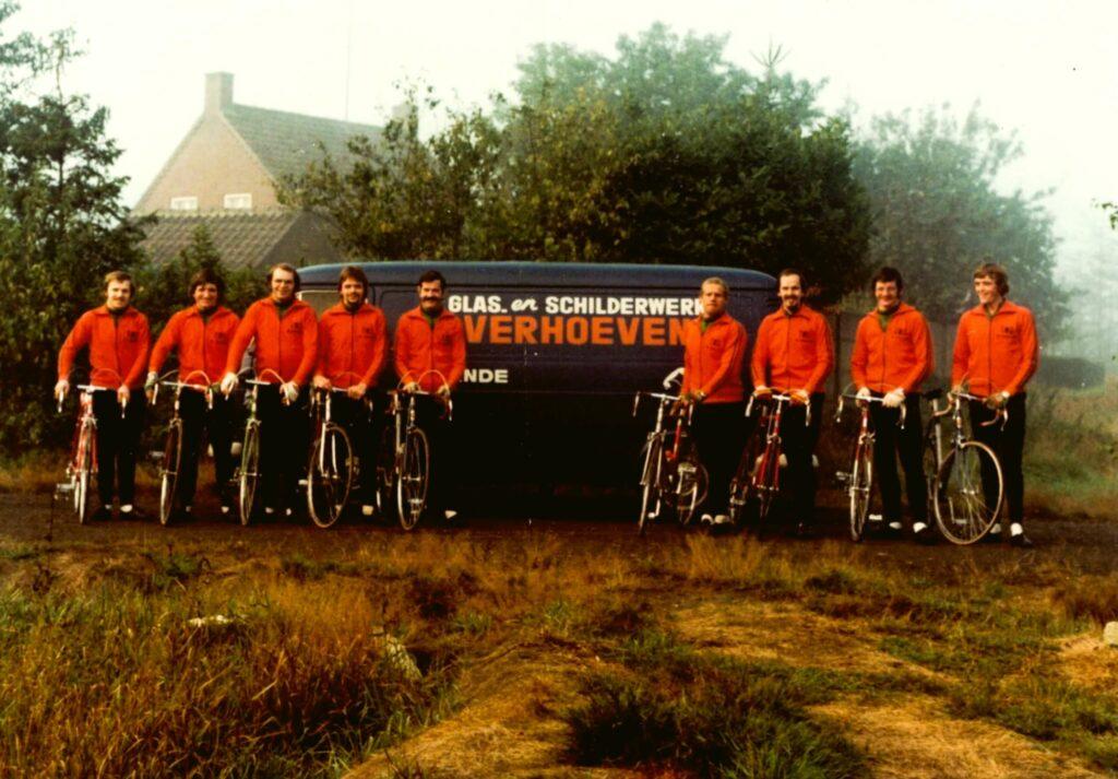Eerste groepsfoto TWC De Zwoegers