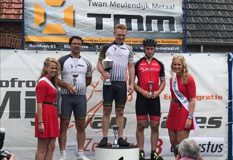 Mijl van Mares Zwoegers 2 op podium Grote prijs van Cranendonck